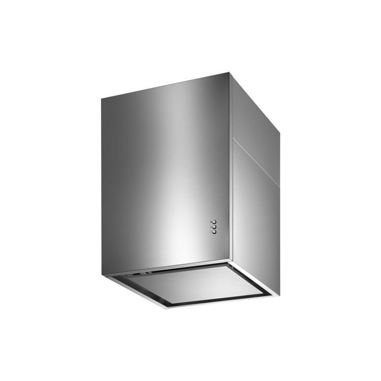 キューブ型レンジフード 照明なし W450×H600 ステンレス