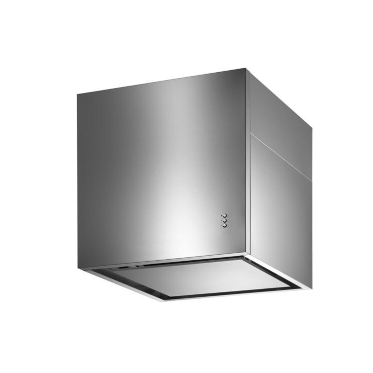 キューブ型レンジフード 照明なし W600×H600 ステンレス