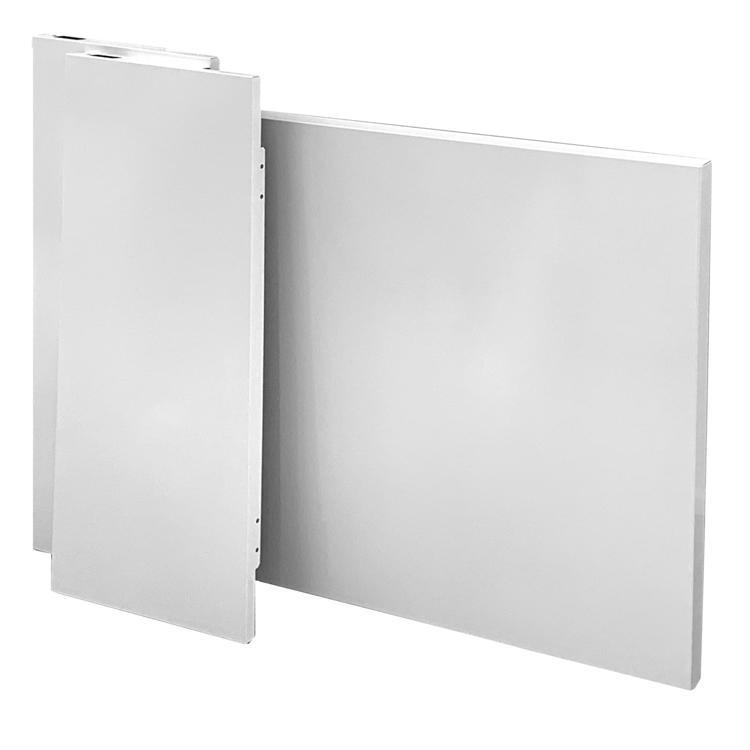 キューブ型レンジフード 天井取付用センターパーツ(照明付き用)