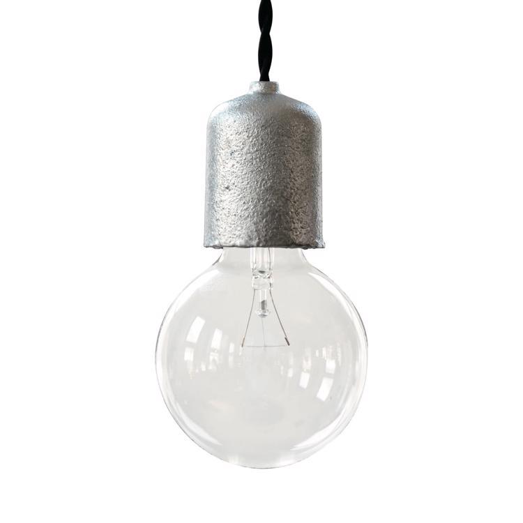 ソケットランプ METAL 亜鉛