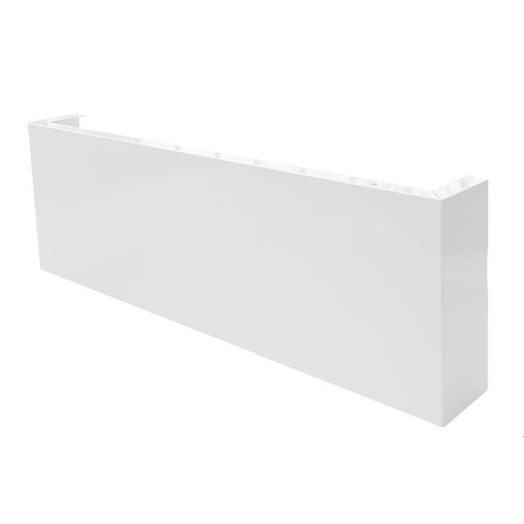 フラットレンジフード 前幕板 ホワイト