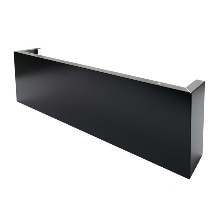 フラットレンジフード 前幕板 ブラック