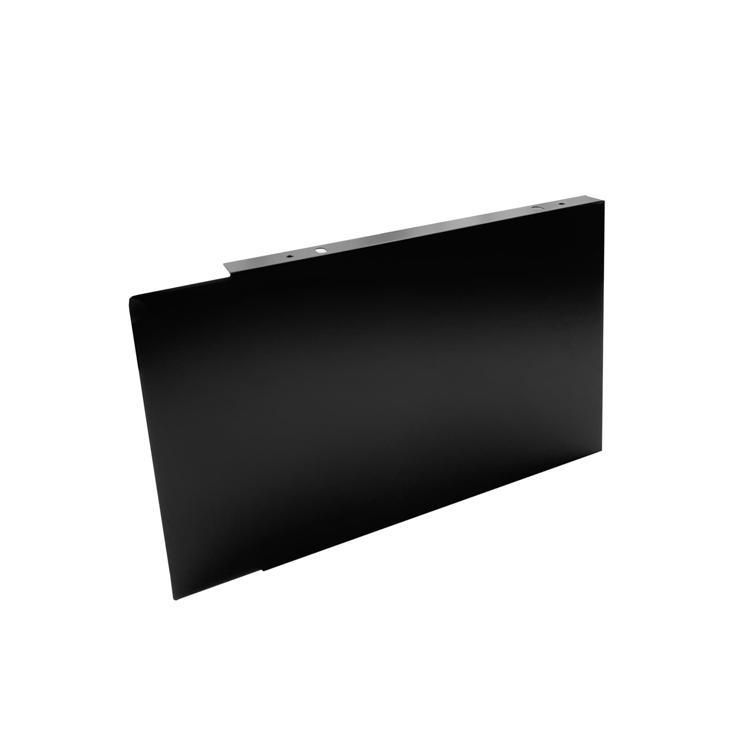 フラットレンジフード 横幕板 ブラック