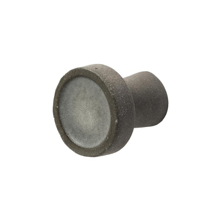 陶器のつまみ ダークグレー