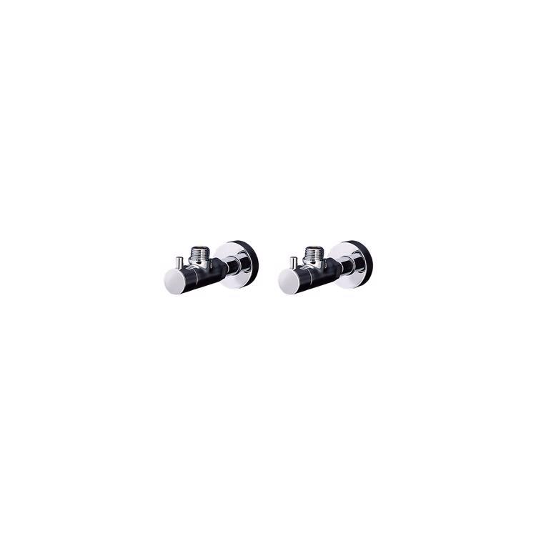 洗面機器(他パーツ) 止水栓 WK-1:混合栓用 壁給水タイプ 2台セット