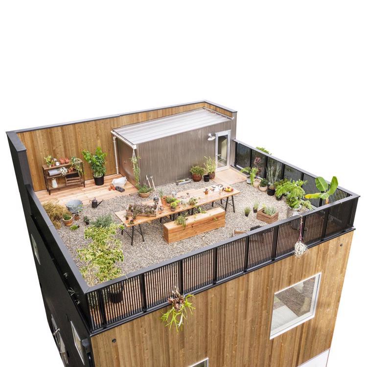 タイアップ企画住宅 ZERO-CUBE TOOLS +SKY BALCONY