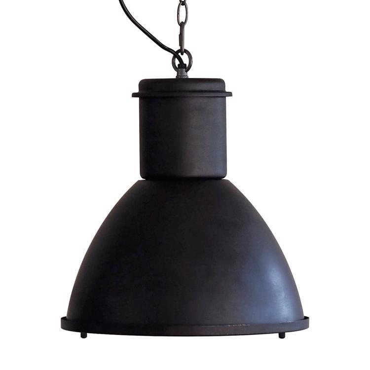 ファクトリーランプ 単色 ランプカバー付き ブラック
