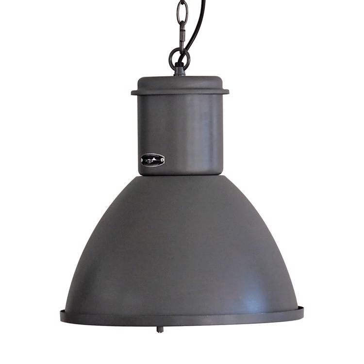 ファクトリーランプ 単色 ランプカバー付き サックスグレー