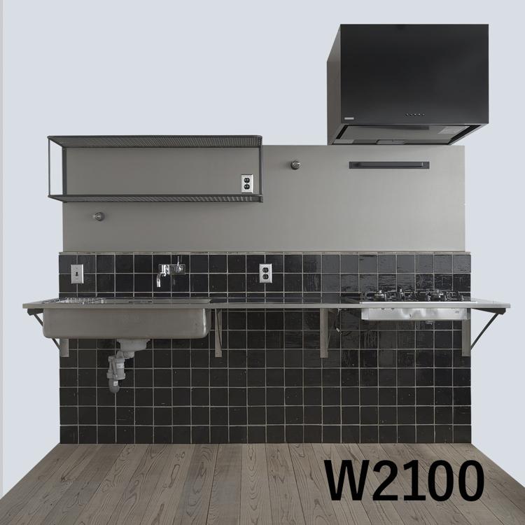 キッチンSETUP-03 W2100