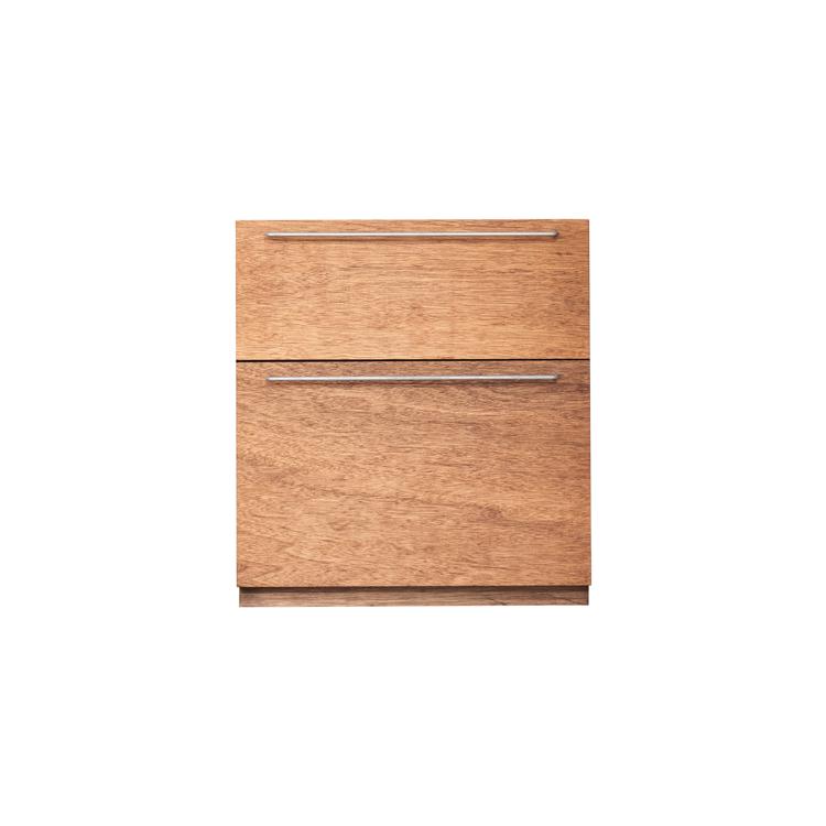 木製キッチンカウンター ラワン 引き出し