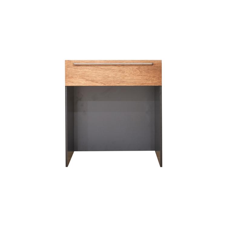 木製キッチンカウンター ラワン オープン
