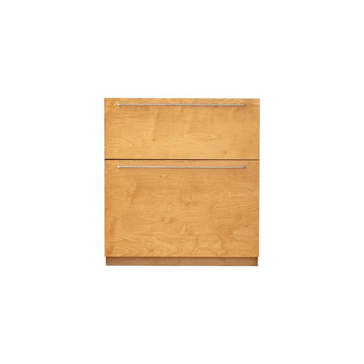 木製キッチンカウンター バーチ 引き出し