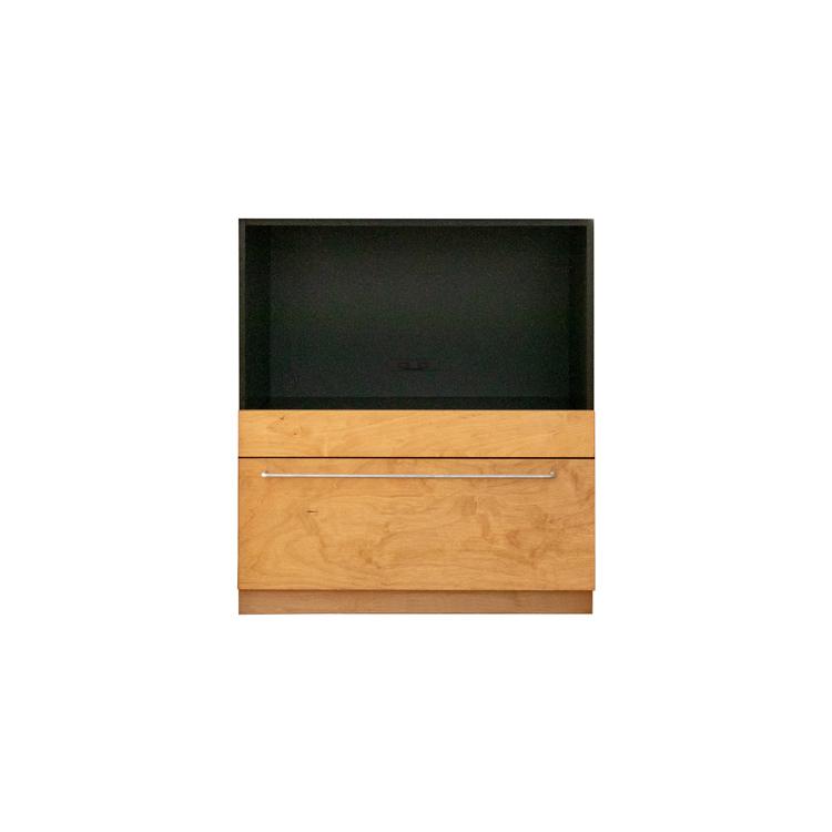 木製キッチンカウンター バーチ スライド
