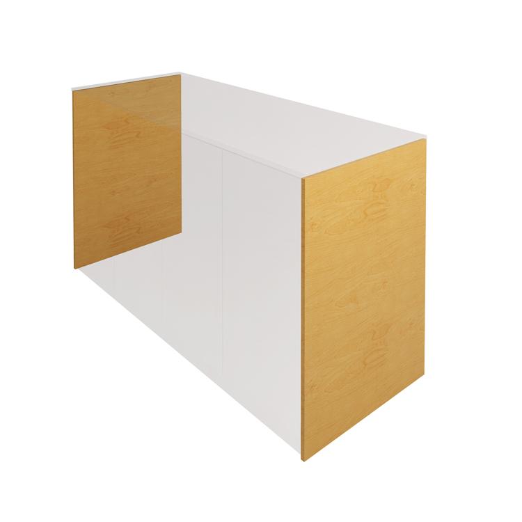 木製キッチンカウンター サイドパネル バーチ
