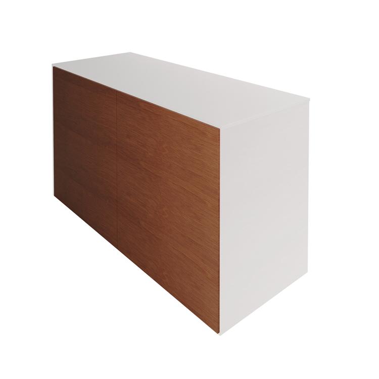 木製キッチンカウンター バックパネル ラワン