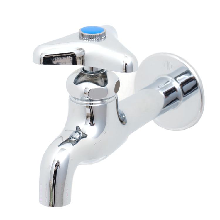 洗面機器(水栓) 水栓 WT-2:壁付け三角ハンドル単水栓