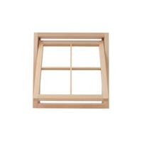 木製室内窓 450角 押し出しタイプ