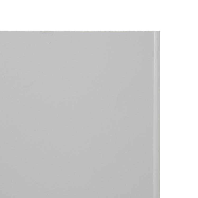 塗装のキッチンパネル マットグレー