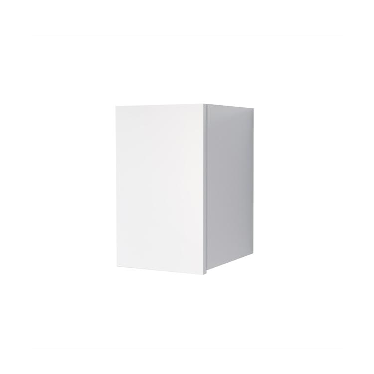 オーダー吊り戸棚 開き扉 ホワイト W250~400