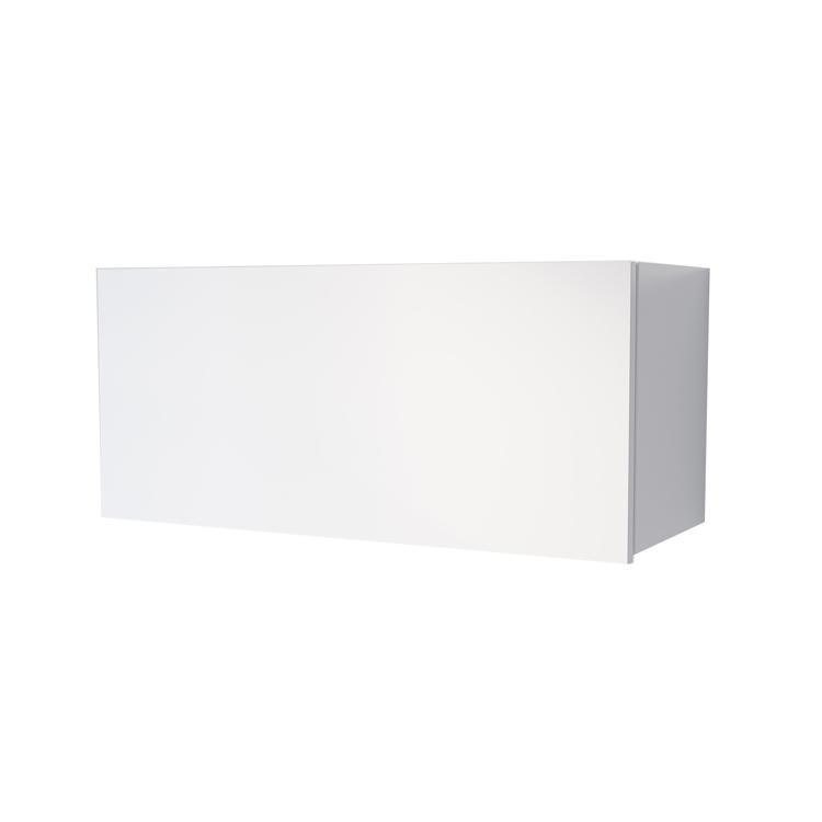 オーダー吊り戸棚 フラップアップ ホワイト W600~1200