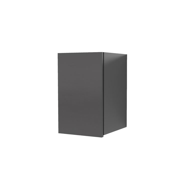 オーダー吊り戸棚 開き扉 ブラック W250~400