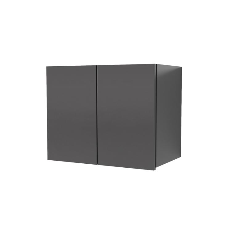 オーダー吊り戸棚 開き扉 ブラック W410~800