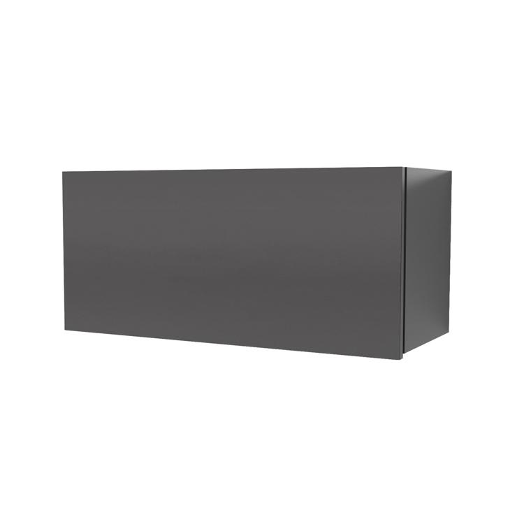 オーダー吊り戸棚 フラップアップ ブラック W600~1200