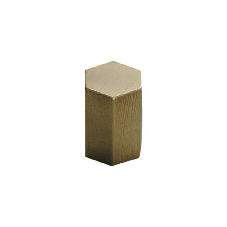 真鍮金物 つまみ六角柱