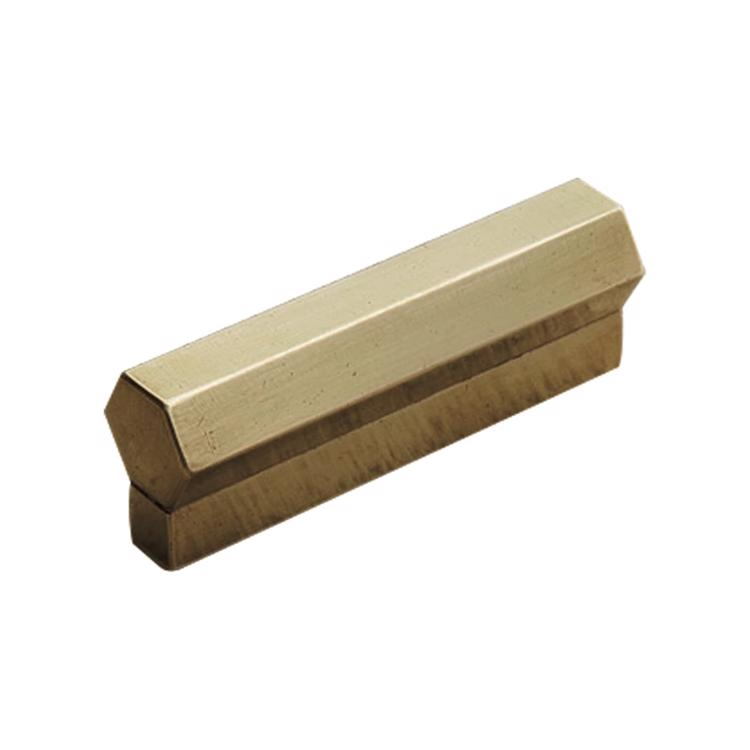 真鍮金物 とって浮六角