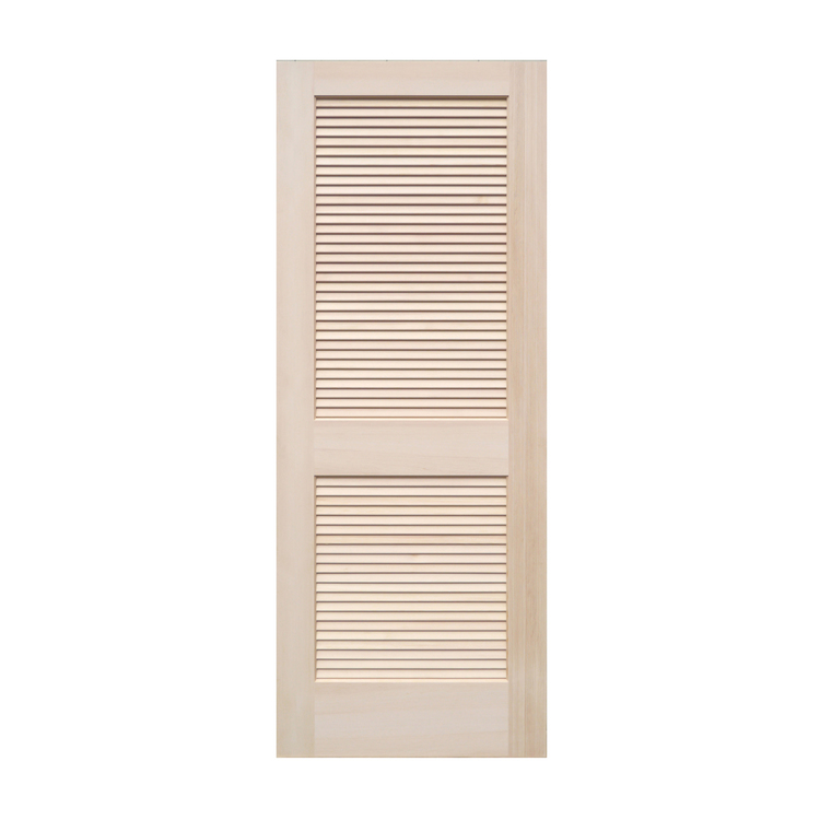 木製パインドア ルーバードア W661
