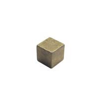 真鍮立方体つまみ 小サイズ