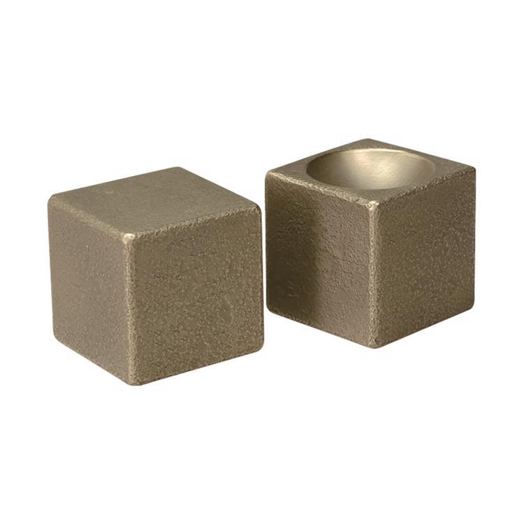 真鍮立方体つまみ 中サイズ