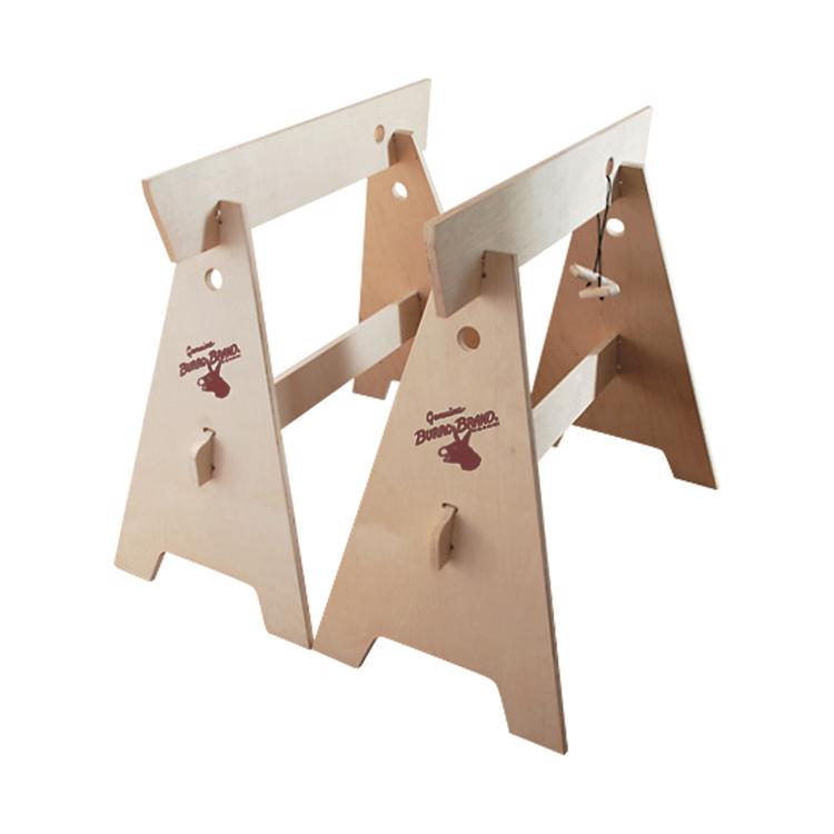 木製作業台 組立式(2脚セット)