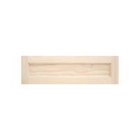 木製パインキャビネットドア フラット 600×175