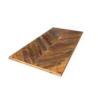 古材天板 ヘリンボーン1500×750
