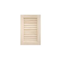 木製パインキャビネットドア ルーバー 300×450
