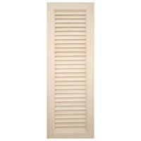 木製パインキャビネットドア ルーバー 300×900