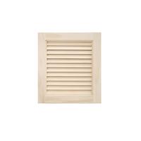 木製パインキャビネットドア ルーバー 400×450