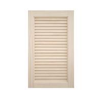 木製パインキャビネットドア ルーバー 400×680