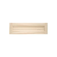 木製パインキャビネットドア ルーバー 600×175
