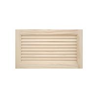 木製パインキャビネットドア ルーバー 600×350