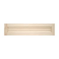 木製パインキャビネットドア ルーバー 750×175