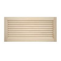木製パインキャビネットドア ルーバー 750×350