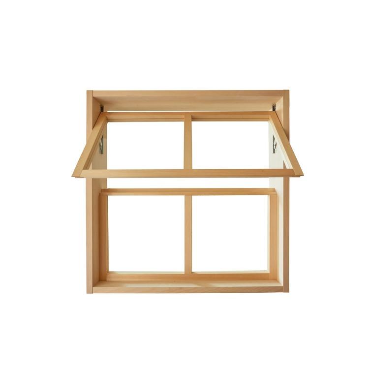 木製室内窓 押し出しタイプ